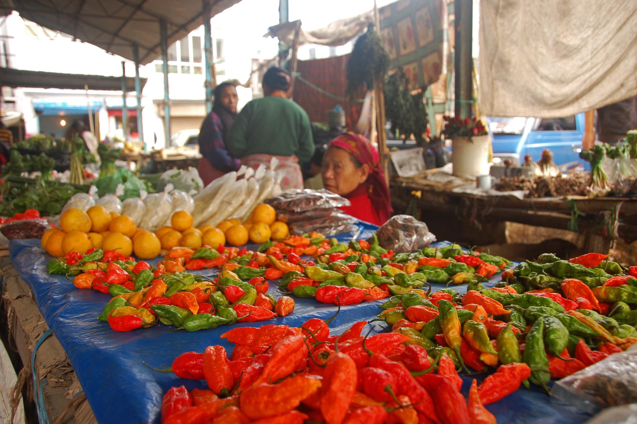 vendor in kohima market