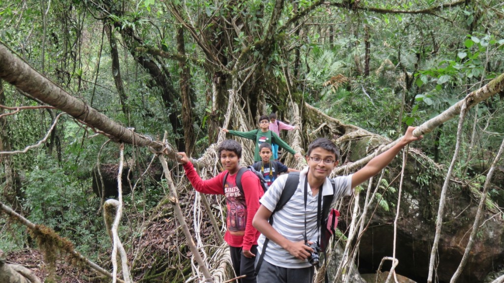 longest living root bridge, Ritymmen,Nongthymmai village, Cherrapunji