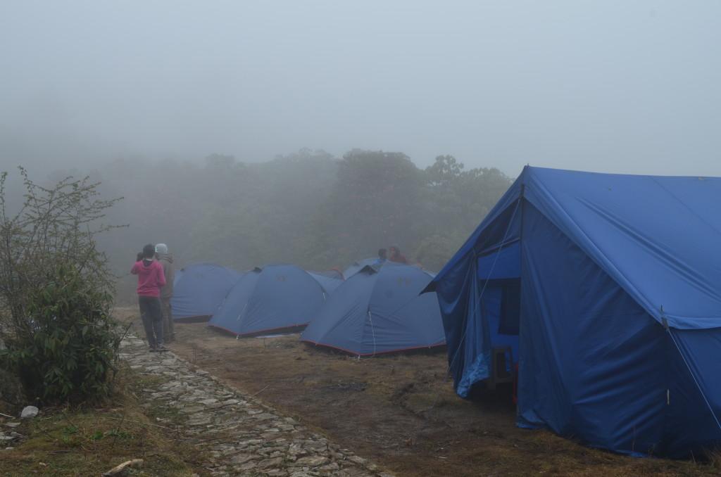 Barsey campsite