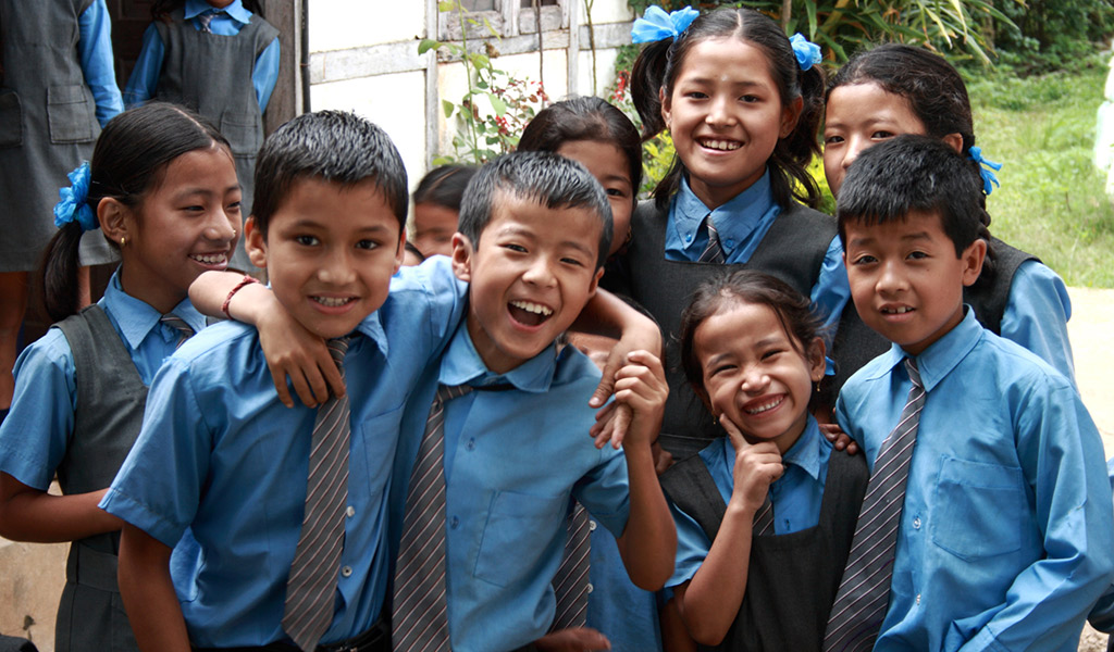 Children in Sikkim School