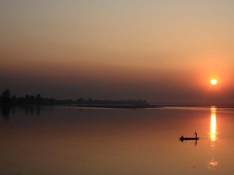 Brahmaputra sunset
