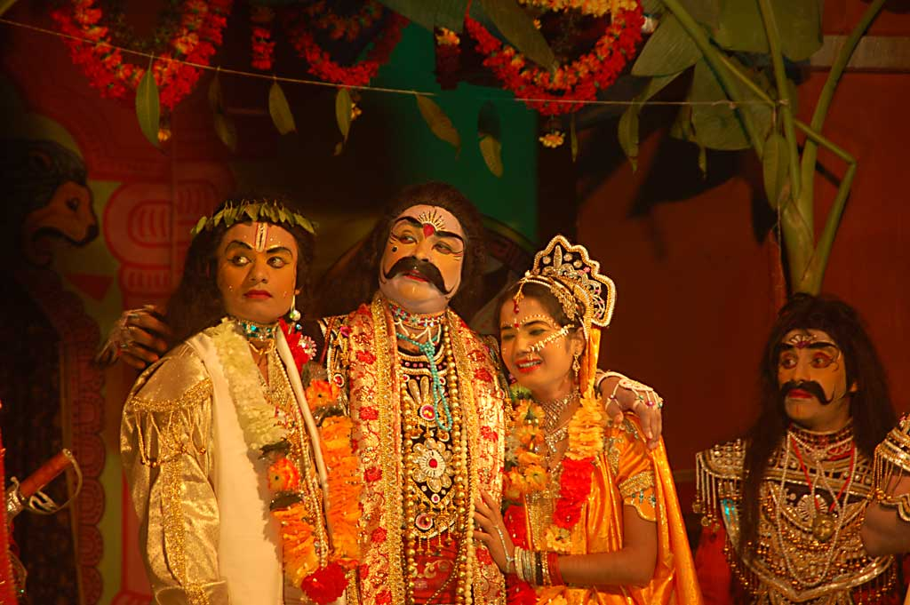 Raas Leela performance in Majuli