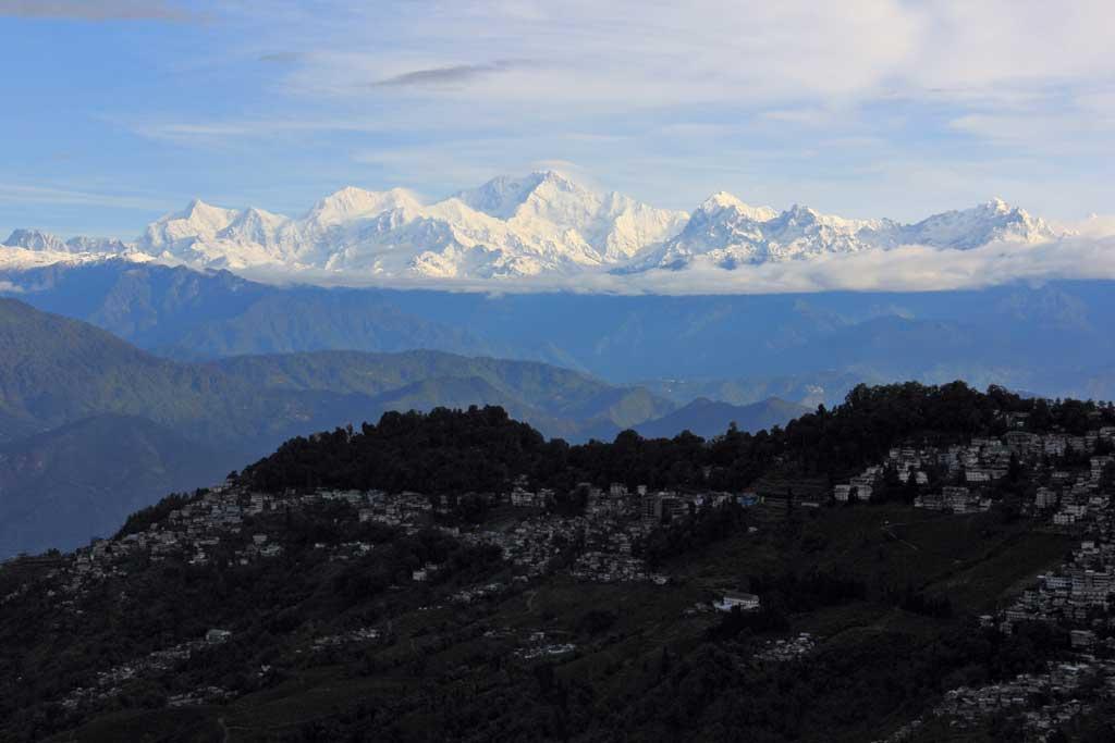 Views of Kangchenjunga from Darjeeling