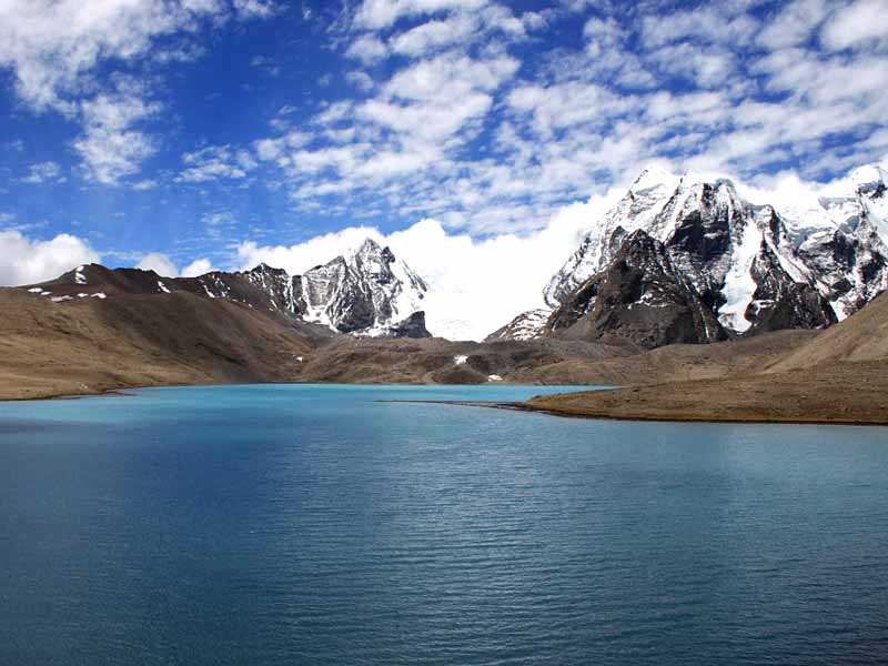 Gurudongmar Lake in North Sikkim