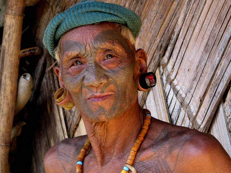 Konyak naga headhunter