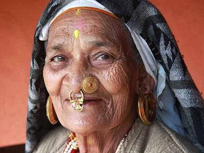 Chettri woman